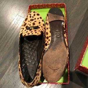 Tory Burch Chandra Cheetah Print Loafer